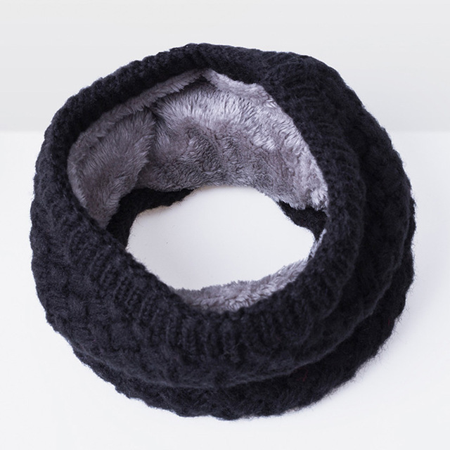 6afa54a78c44b Black Winter Neck Warmer / Wrap for Men / Women / Unisex - Winter ...